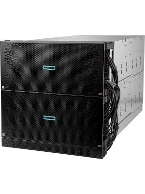 HPE Integrity MC990 X 5U Rack-mountable Server - 4 x Intel Xeon E7-8880 v4 Docosa-core (22 Core) 2.20 GHz DDR4 SDRAM - 6Gb/s SAS Controller - 0, 1, 10 RAID Levels - 4 x 1600 W - 4 Processor Support - Gigabit Ethernet - 128 MB Graphic Card
