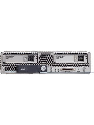 Cisco B200 M5 Blade Server - 2 x Intel Xeon Gold 5120 Tetradeca-core (14 Core) 2.20 GHz - 192 GB Installed DDR4 SDRAM - Serial ATA, 12Gb/s SAS Controller - 2 Processor Support - 3 TB RAM Support - 10 Gigabit Ethernet - Matrox G200e 8 MB Graphic Card
