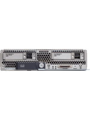 Cisco B200 M5 Blade Server - 2 x Intel Xeon Gold 6134 Octa-core (8 Core) 3.20 GHz - 384 GB Installed DDR4 SDRAM - Serial ATA, 12Gb/s SAS Controller - 2 Processor Support - 3 TB RAM Support - 10 Gigabit Ethernet - Matrox G200e 8 MB Graphic Card