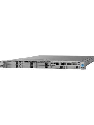 Cisco Barebone System - 1U Rack-mountable - Intel C610 Chipset - 2 x Processor Support - 1.50 TB DDR4 SDRAM DDR4-2400/PC4-19200 Maximum RAM Support - Serial ATA/600 RAID Supported Controller - Matrox G200e 8 MB Integrated - 8 x Total Bays - 8 2.5