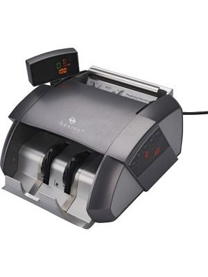 Sparco Automatic Bill Counter with Digital Display - Counts 1100 bills/min - White