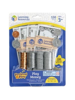 Pretend & Play Play Money - 150 Pieces