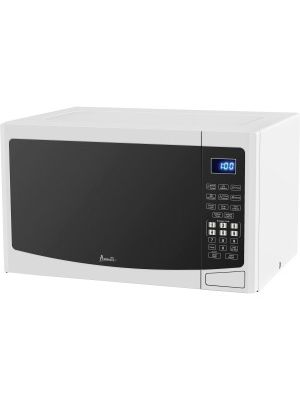Avanti Model MT12V0W - 1.2 CF Touch Microwave - White - Single - 8.98 gal Capacity - Microwave - 10 Power Levels - 1000 W Microwave Power - 120 V AC - Glass - Countertop - White