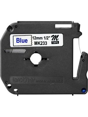 Brother P-touch Nonlaminated M Series Tape Cartridge - 1/2