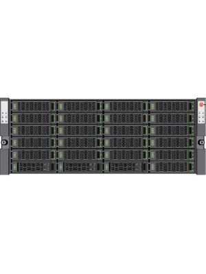 Nimble Storage SF100 SAN Storage System - 21 x HDD Installed - 84 TB Installed HDD Capacity - 6 x SSD Installed - 11.04 TB Total Installed SSD Capacity - 10 Gigabit Ethernet - - iSCSI - 4U - Rack-mountable
