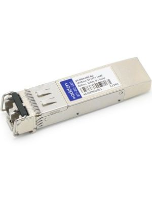 AddOn SFP+ Module - For Data Networking, Optical Network 1 LC 10GBase-SR Network - Optical Fiber Multi-mode - 10 Gigabit Ethernet - 10GBase-SR - Hot-swappable - TAA Compliant