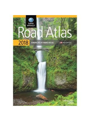 Rand McNally North American Road Atlas Reference Printed Book - English - Book - 144 Pages