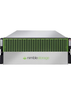 Nimble Storage CS5000 SAN Storage System - 21 x HDD Installed - 21 TB Installed HDD Capacity - 6 x SSD Installed - 2.88 TB Total Installed SSD Capacity - RAID Supported 6 - 10 Gigabit Ethernet - Network (RJ-45) - - iSCSI - 4U - Rack-mountable