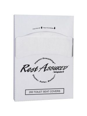 Impact Products 1/4-fold Toilet Seat Covers - 8