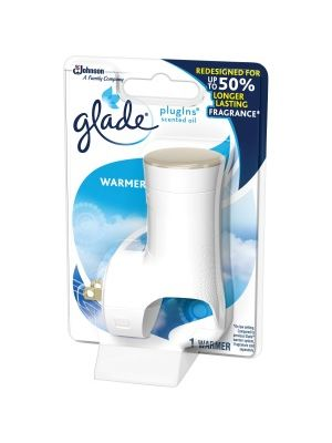 Glade PlugIns Scented Oil Warmer Unit - 1 Each - White