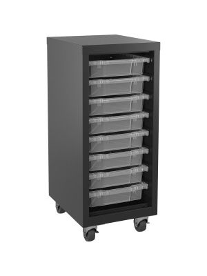 Lorell Pull-out Bins Mobile Storage Tower - 36