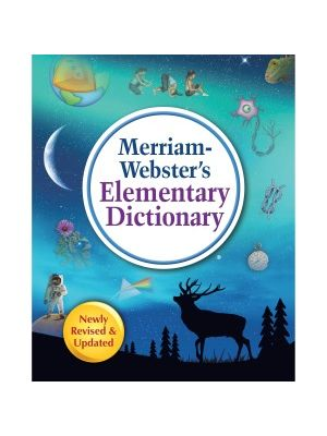 Merriam-Webster Elementary Dictionary Dictionary Printed Book for Science/Technology/Engineering/Mathematics - Book