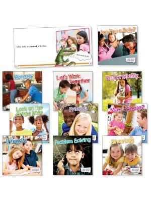 Rourke Educational Grades K-2 Little World Social Skills Set Education Printed Book - Book - 24 Pages