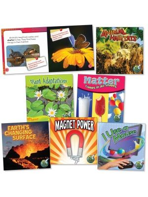 Rourke Educational Grades 1-2 Science Library Book Set Education Printed Book for Science - Book