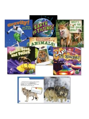Rourke Educational Grades 2-3 Science Library Book Set Education Printed Book for Science - Book