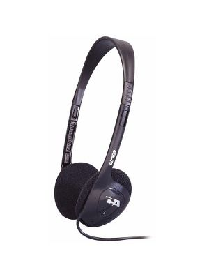 Cyber Acoustics ACM-70b Lightweight PC/Audio Stereo Headphone - Stereo - Mini-phone - Wired - 20 Hz 20 kHz - Over-the-head - Binaural - Supra-aural - 7 ft Cable