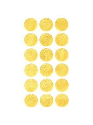 Geographics Gold Embossed Seals - 1.25