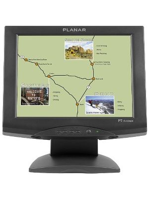 Planar PT1510MX Touch Screen LCD Monitor - 15