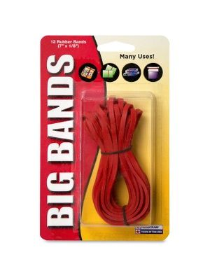 Alliance Rubber 00700 Big Bands - Large Rubber Bands for Oversized Jobs - 12 Pack - 7