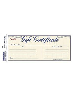 Rediform Gift Certificates with Envelopes - 8.50