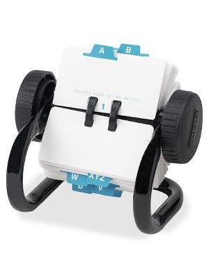 Rolodex Classic 250 Card Rotary File - 250 Card Capacity - For 1.75