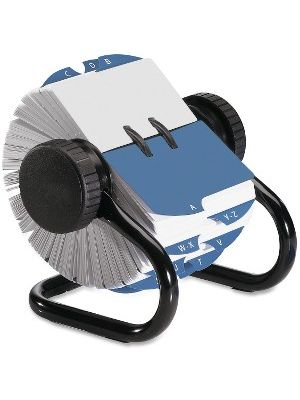 Rolodex Open Classic Rotary Files - 500 Card Capacity - For 2.25