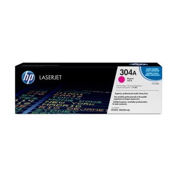 HP 304A Original Toner Cartridge - Single Pack - Laser - 2800 Pages - Magenta - 1 Each