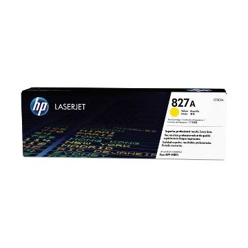 HP 827A Original Toner Cartridge - Single Pack - Laser - Standard Yield - 32000 Pages - Yellow - 1 Each