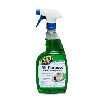 Zep Commercial All-Purpose Cleaner/Degreaser - Ready-To-Use Spray - 0.25 gal (32 fl oz) - 12 / Carton - Green
