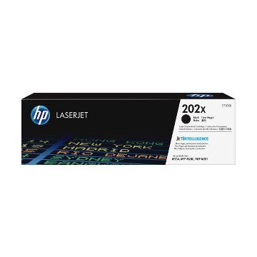 HP 202X Original Toner Cartridge - Black - Laser - High Yield - 3200 Pages - 1 Pack